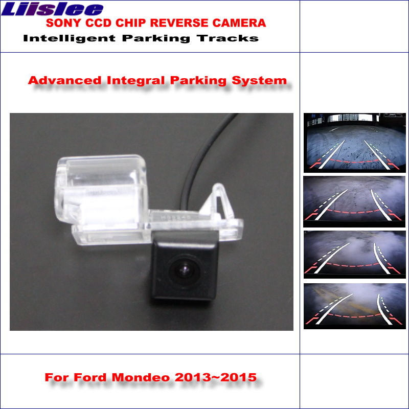 Liislee HD CCD SONY Rear Camera Ford Mondeo 2013~2015 Intelligent Parking Tracks Reverse Backup / NTSC RCA AUX 580 TV Lines