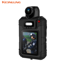 KOONLUNG Proffesinal Police Camera Body Camera Body Worn Car DVR GPS Ambarella A7LA30 IR Night Vision Camcorder Full HD 1080P