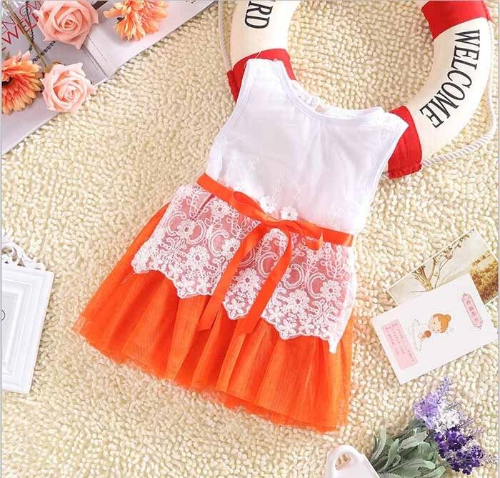 2017 new fashion Girls baby Lace Belt tutu dress children Patchwork mesh dresses for girl kids summer vest dress<br><br>Aliexpress