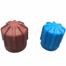 2pcs R134a Auto Ac A/C Valve Cap Refrigerant Valve High/Low Voltage Dust Cover Caps 134a Replacement M8 M9 M10 Plastic Cap Hat