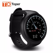 I4 Plus 3G Smart Watch Android MTK6580 Quad Core 1.3GHz Phone Support WIFI Heart Rate Pedometer Google Map RAM 1GB ROM 16GB
