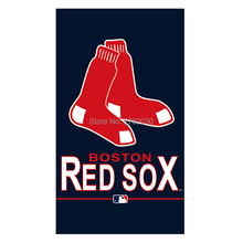 Boston Red Sox Flag Fan Baseball Team Custom Banners Major League Baseball Flags Banner 100D Polyester Hanging Decoration
