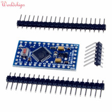 2PCS Pro Mini Atmega328 3.3V 8Mhz Board Module for Arduino Nano Mini 328 ATMEGA328P-AU Controller With Pins Replace Atmega128