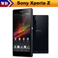 "Original Sony Xperia Z L36h C6603 6602 Unlocked 5.0"" TouchScreen 2MB RAM 16GB ROM 13.1MP Quad Core Smart Moblie Phone"