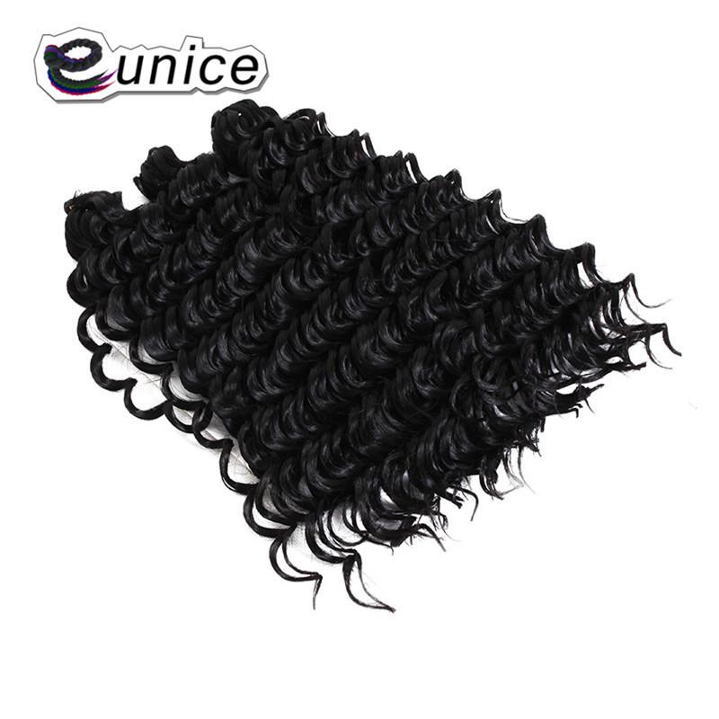 3 Bundleslot Fashion synthetic braiding hair 10inch Freetress Jerry Curl Crochet Braid  (32)