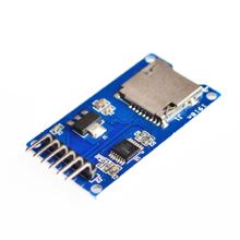 5pcs/lot Micro SD card mini TF card reader module SPI interfaces with level converter chip for