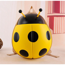 Fashion Designer Ladybug 3D Backpack Cartoon Animal Child Waterproof Backpack School Bag Unique Kids Birthday Christmas Gift
