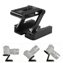 Buy New Camera Pan Tilt Head Aluminum Alloy Z Type Foldable Quick Release Plate Stand Holder Slider Tripod Canon Nikon Sony @JH for $12.25 in AliExpress store