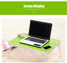 1PC Portable Picnic Camping Folding Table Laptop Desk Stand PC Notebook Bed Tray New(China)