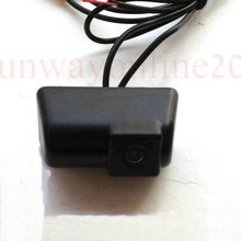 Hot Sale !!! High Quality Car Rear View Mirror Image With Guide/Help/Parking Line Color CMOS CAMERA for FORD TRANSIT CONNECT(China)