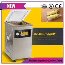 500mm seal size automatic stainless steel dry-wet food vacuum sealing machine(China)