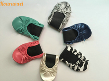 Free Shipping! China supplier new product foldable ballet flats with bag