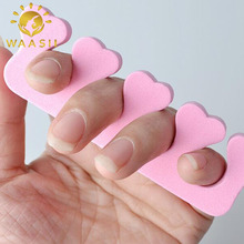2pc Soft Sponge Foam Fingers Toes Separators Pedicure Manicure Nail Art Design Tool