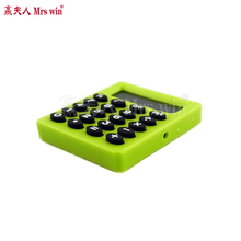 High Quality Mini Calculator Ha ndheld Pocket Type Coin Batteries Calculator carry extras Pocket Cartoon(China)