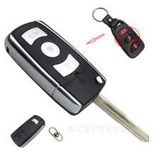 Replacement Modified 3 Buttons Flip Folding Remote Car Key Shell For Hyundai Cerato Elantra Free Shipping High Quality FOB