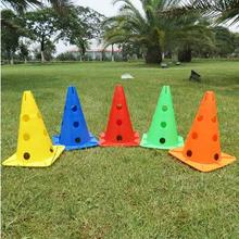 10pcs / lot 30cm Pail Marks Barrels Football Training Equipment Signs Barrels Football Training Equipment Road Signs Roadblocks