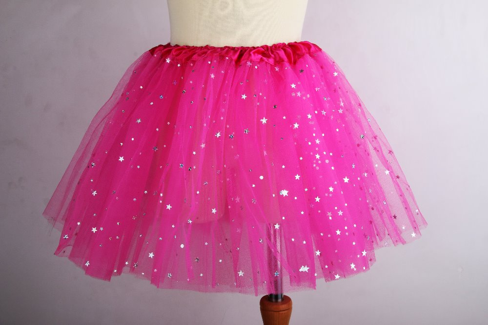 UK Kids Rainbow Petticoat Girls Tutu Skirt Tulle Dance Ballet Dress 1-9Y Gifts