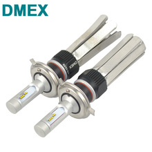 DMEX H4 H7 H8 H11 H16 9005 HB3 9006 HB4 9004 9007 Luxeon ZES Chip Canbus 50W 8000LM 6000K White 3000K Car LED HeadLight Bulb Kit(China)