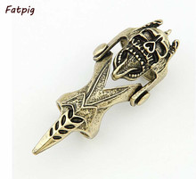1Piece Gothic Punk Gothic Alloy Metal Rock Skull Joint Hinged Knuckle Joint Finger Ring Jewelry For Men