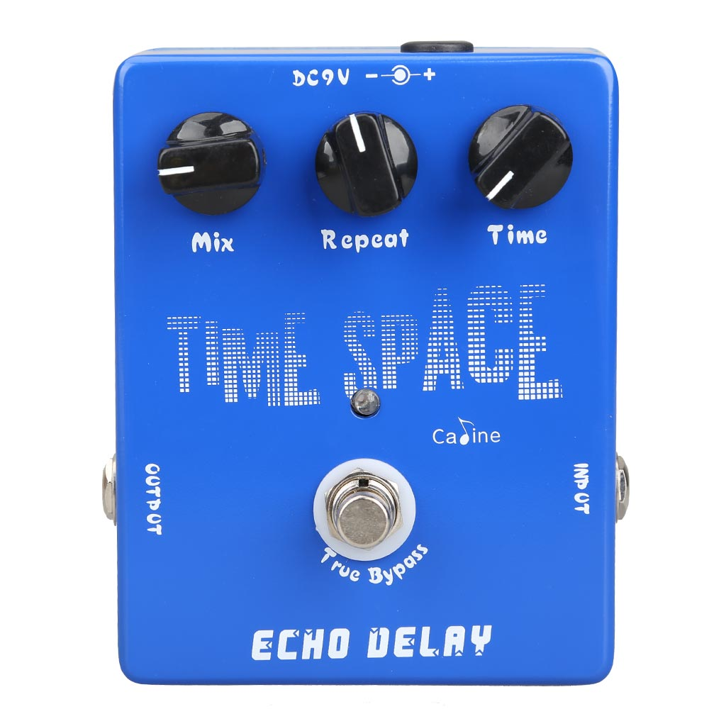 2017 High Quality Delay Guitar Pedals CP-17 Echo Delay True Bypass Blue 600ms Max for Musical Instrument Guitar Parts Accessoies<br>