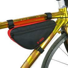 Outdoor Cycling Front Bag Waterproof Triangle Bicycle Tube Frame Bags Mountain Road - Su Athletics Shop Store store