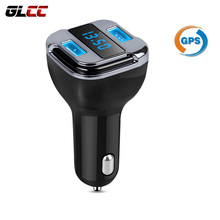 Car GPS Tracker Locator Dual USB Car Charger Real Time Tracking Device Detector Voltmeter mini gps Mobile APP Tracking(China)