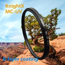 KnightX 49mm 52mm 58MM 62mm 77MM MC uv filter 67mm Lens Filter UV for Nikon d750 700d d70 d90 for canon 1200d d3200 d3300 d5200