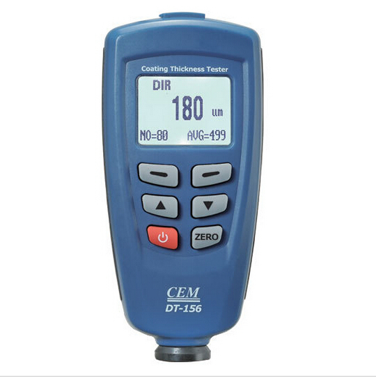 CEM DT-156 Paint Gauge Auto F/NF Probe 1250 Micrometer V-groove Coating Thickness Meter<br><br>Aliexpress