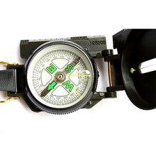 Buy Portable Army Green Folding Lens Compass American Military Multifunction Compass Boat Compass Dashboard Dash Mount Outdoor tools for $2.79 in AliExpress store