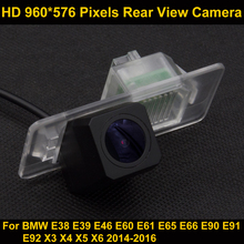PAL HD 960*576 Pixels Car Parking Rear view Camera for BMW E38 E39 E46 E60 E61 E65 E66 E90 E91 E92 X3 X4 X5 X6 2014-2016