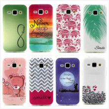 For Galaxy J1 Fashion Cartoon Bear Owl Soft TPU Silicone Case Soft Cover For Samsung Galaxy J1 J100 J100F Phone Protective Bags
