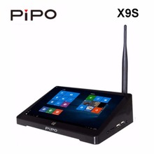PIPO X9S Mini PC 8.9 inch Smart TV BOX Dual OS Windows 10+Android 4.4 Intel Z8350 Quad Core 2G 32GB ROM HDD Player in Stock(China)