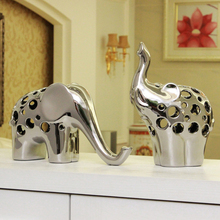 Shelf Bookcase Decor elephant furniture jewelry table Home Furnishing European microornamentation community activities