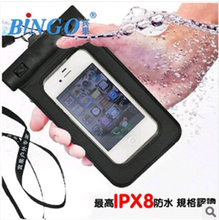 Swimming drifting Underwater Phone Cover Waterproof Bag Case for highscreen Thor Boost Mobile Phone Waterproof Dry Bag Case