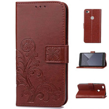 Original PU Leather Phone Case Flip Wallet Back Cover Card Slot Free Lanyard Phone Holder for Xiaomi Mi 5X Redmi Note 5A Case(China)