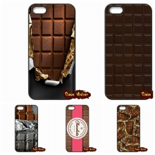 Opened Half Wonka Chocolate Cover Case For iPhone 4 4S 5 5C SE 6 6S 7 Plus Galaxy J5 A5 A3 S5 S7 S6 Edge