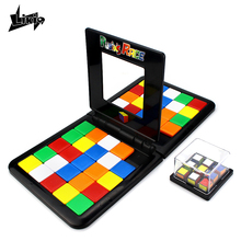 Rubiks Race Magic block game The Gathering Blocks Birthday Gift Family Children Party Toys Favors Board Games for kids ages 5+(China)