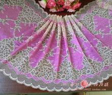 1 Meter Roseo Stretch Lace Trim fo Cloth and Panties Bra Design Elastic Lace Trim Fabric 22CM Width
