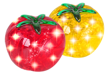 Flash tomatoes get wisdom 3 d puzzle tomatoes to hold toys gifts crystal