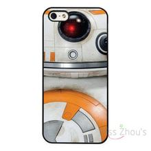 For iphone 4/4s 5/5s 5c SE 6/6s 7 plus ipod touch 4/5/6 back skins cellphone cases cover BB8 BB-8 Droid Star Wars Force Awakens