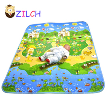 2017 Baby Playmats Baby Animal Farm Carpet Infant Developing Letter Rug Mat Baby Puzzle Crawling Mat Drop Ship