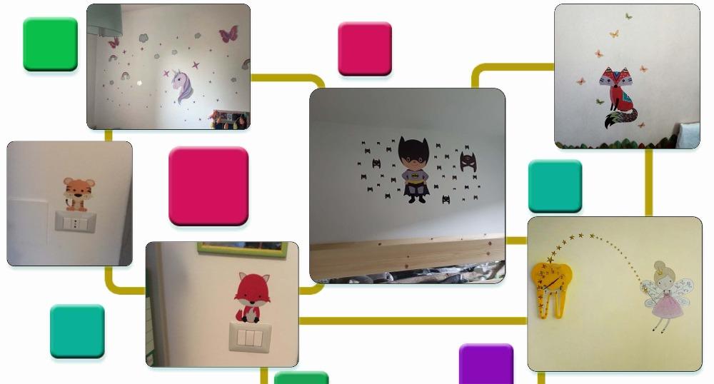 HTB1kBXtdamWBuNkHFJHq6yatVXaV - Cute Horse Fairy Girl Light Switch Sticker For Kids Girls Bedroom