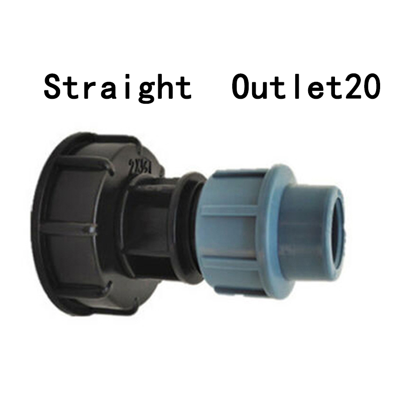 Rust Connection Type Tools 1//4 Water Tank Hose Adapter Connector For IBC Anti