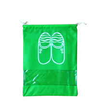 High Quality Non-Woven Laundry Shoe Bag 2 size Travel Pouch Storage Portable Tote Drawstring Storage Bag 1424 Organizer Cover(China)
