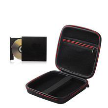 Waterproof DVD Organizer Storage Bag DVD Drive Hard Shell Protection Cover Digital Accessories Travel Shockproof Christmas Gift(China)