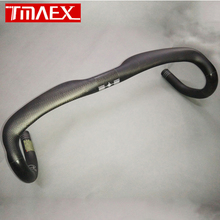 Carbon Fiber Road Bike Handlebar Drop Handle Bars 3K Matt Black 31.8*400/420/440mm