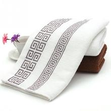 33*74cm Soft 100% Cotton Solid Color Towels Brief Home Business Quick-Dry Large Bath Sheet Bath Towel Hand Towel Face New