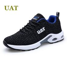 Fall 2017 new lifestyle UAT brand men's running shoes low outdoor sport shoes non-slip air sole sneakers male athletic shoes(China)