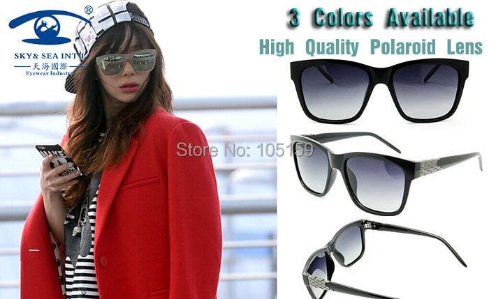 New 2015 Outdoor Brand Designer Oversized Sunglasses Women Coating Polaroid Sunglasses Square oculos de sol<br><br>Aliexpress
