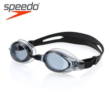 SPEEDO Waterproof Swimming Goggles Large Frame Comfortable High Definition Anti Fog Swimming Glasses 113017